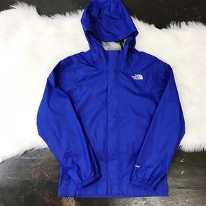 d7721db95 The North Face Jackets & Coats | Girls Rain Jacket Turquoise M 1012 ...